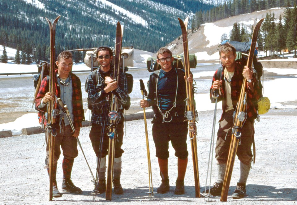 1 A Magical Experience - 1967 Great Divide Traverse Team - photo courtesy Chic Scott