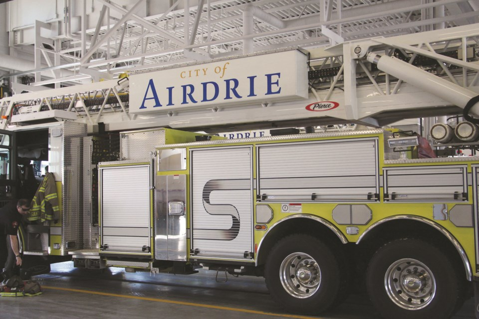 Airdrie firefighters are continuing the advocacy campaign to get listed on the Province's list for vaccination as a part of Phase 2B. File Photo/Airdrie City View