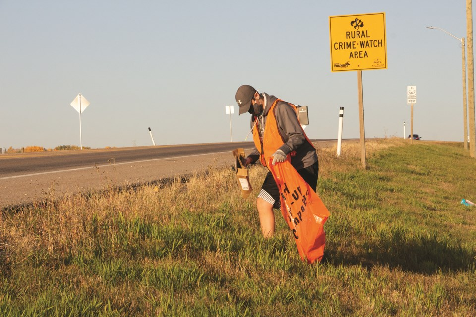 Volunteer Airdrie will once again take part in an annual highway clean-up on May 1. File photo/Airdrie City View