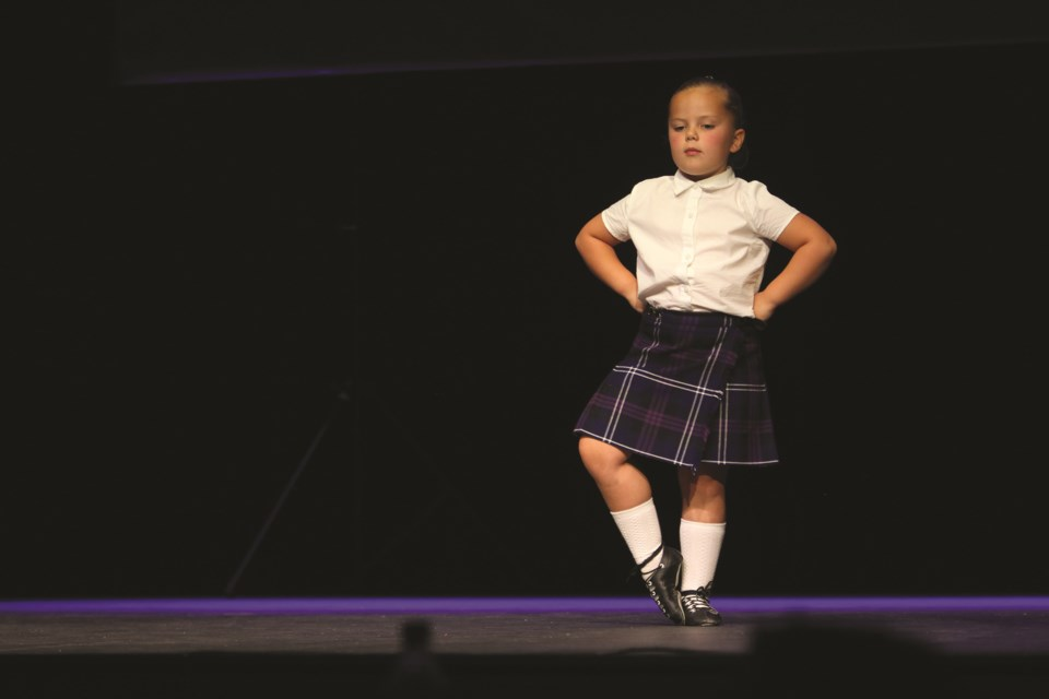 Highland dancers of varying age groups participated in a dance demonstration hosted by the Students of Aurora Dance Academy at the Polaris Centre on Sept. 18.