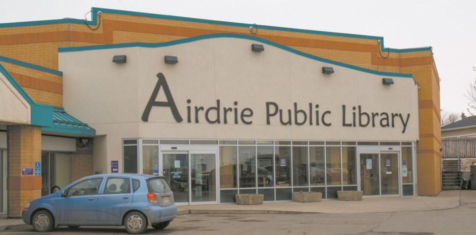 Airdrie public library
