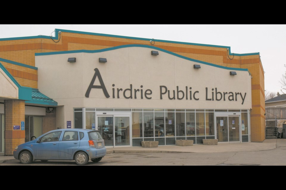 Airdrie Public Library staff hopes to reopen the facility's doors, with restrictions in place, in July. File photo/Airdrie City View