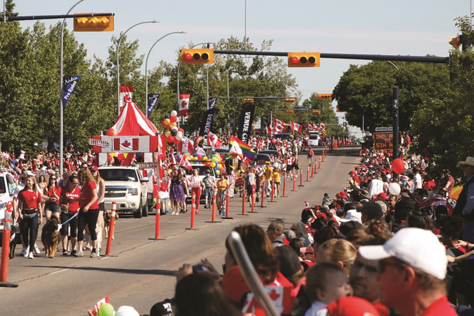 Airdrie's annual Canada Day Parade has been cancelled due to the COVID-19 pandemic.  File photo/Airdrie City View