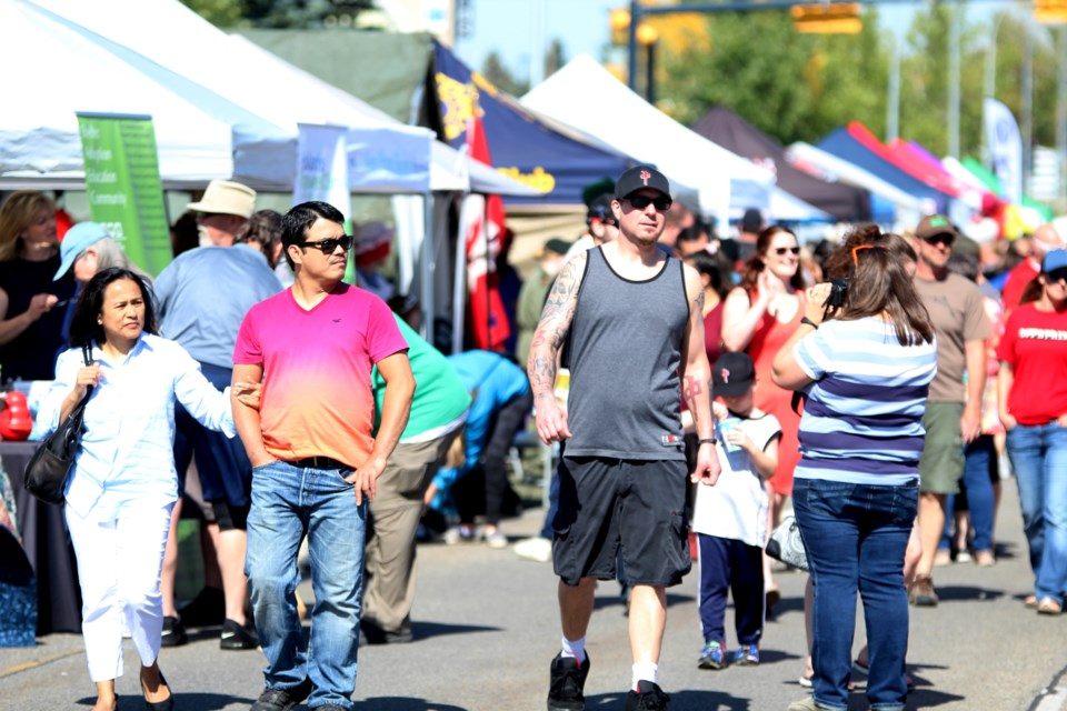 After being cancelled in 2020, the organizers of the annual airdrieFEST street market are excited to bring the event back this fall. File photo/Airdrie City View