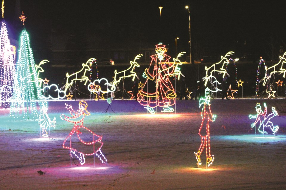 The Airdrie Festival of Lights is kicking off its 25th season Dec. 1. File photo/Airdrie City View.