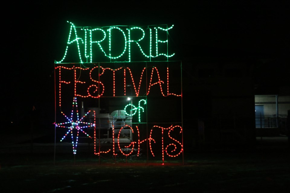 The Airdrie Festival of Lights is still a few weeks away, but preparations are in full swing, according to co-ordinator Michelle Pirzek. File photo/Rocky View Publishing