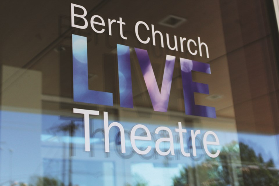 Bert Church LIVE Theatre is producing a new podcast that centers around the local arts community. Photo by Scott Strasser/Airdrie City View.