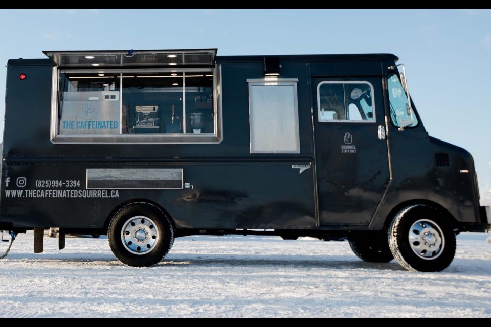 The Caffeinated Squirrel is a new Airdrie-based coffee truck business established in January. Photo submitted/For Airdrie City View.