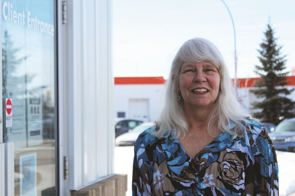 Lori McRitchie has been the executive director of the Airdrie Food Bank for 15 years.