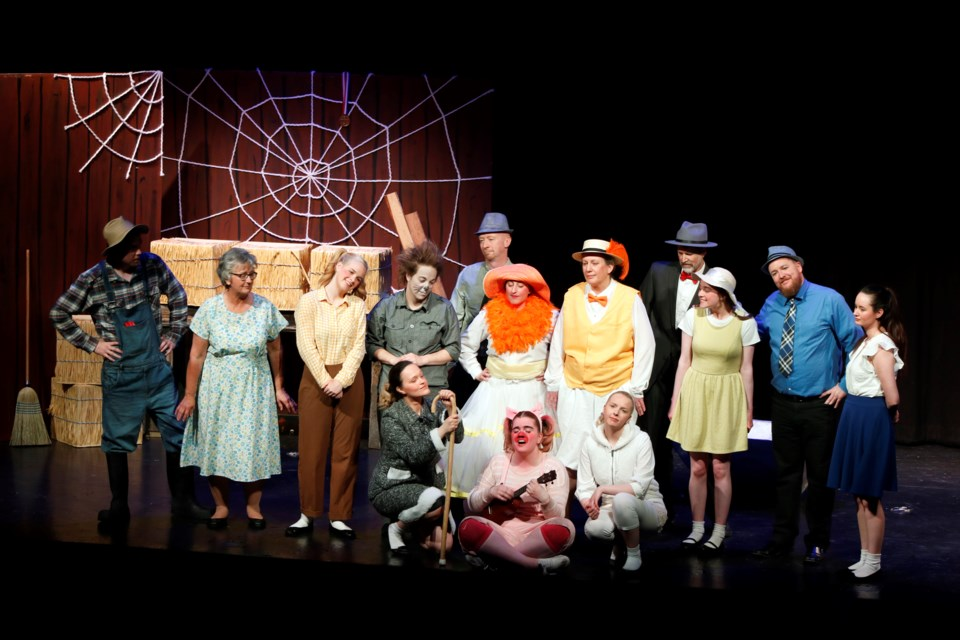 On May 25, the Nose Creek Players performed two shows of Charlotte's Web Public at Bert Church LIVE Theatre.