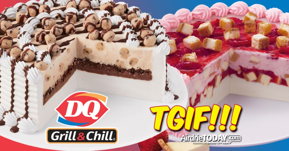 !TGIF Airdrie Dairy Queen