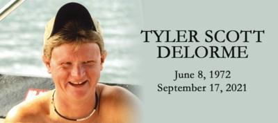 DELORME, Tyler- obit DW