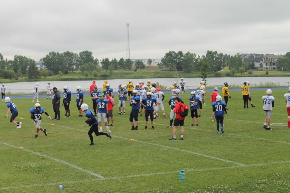 More than 10 Airdrie football players will represent the city at Football Alberta's Summer Series showcase games on July 17.