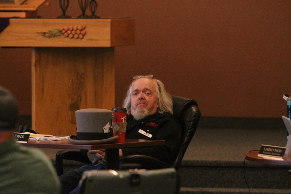 Deputy Mayor Glenn Price has resigned from his position on Crossfield Town council, citing personal health reasons.