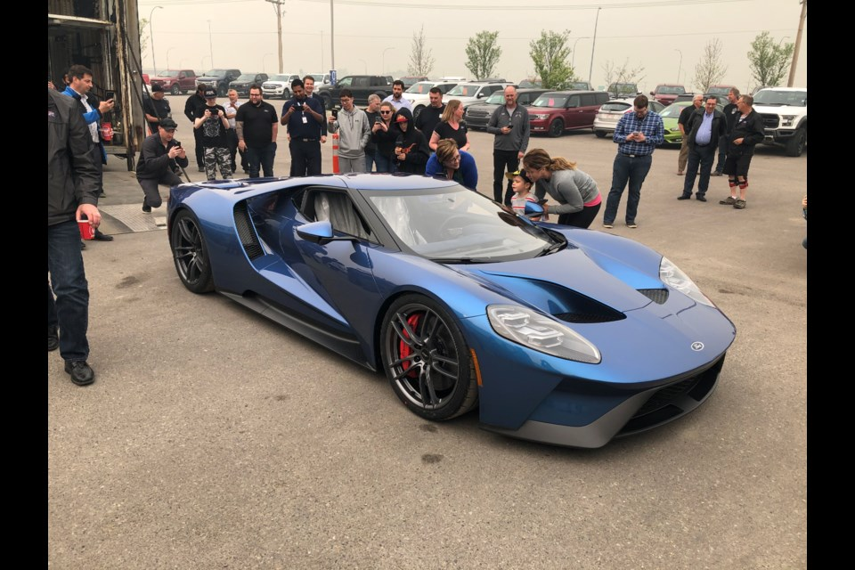 Cam Clark Ford is excited to present the new Ford GT. This new 650 horsepower supercar will be on display at the show room in Airdrie for a limited time. Come down and have a look before it's gone.