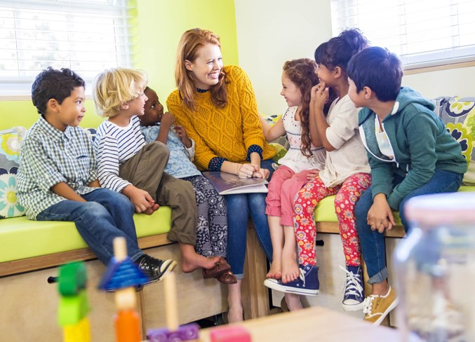 kindergarten stress