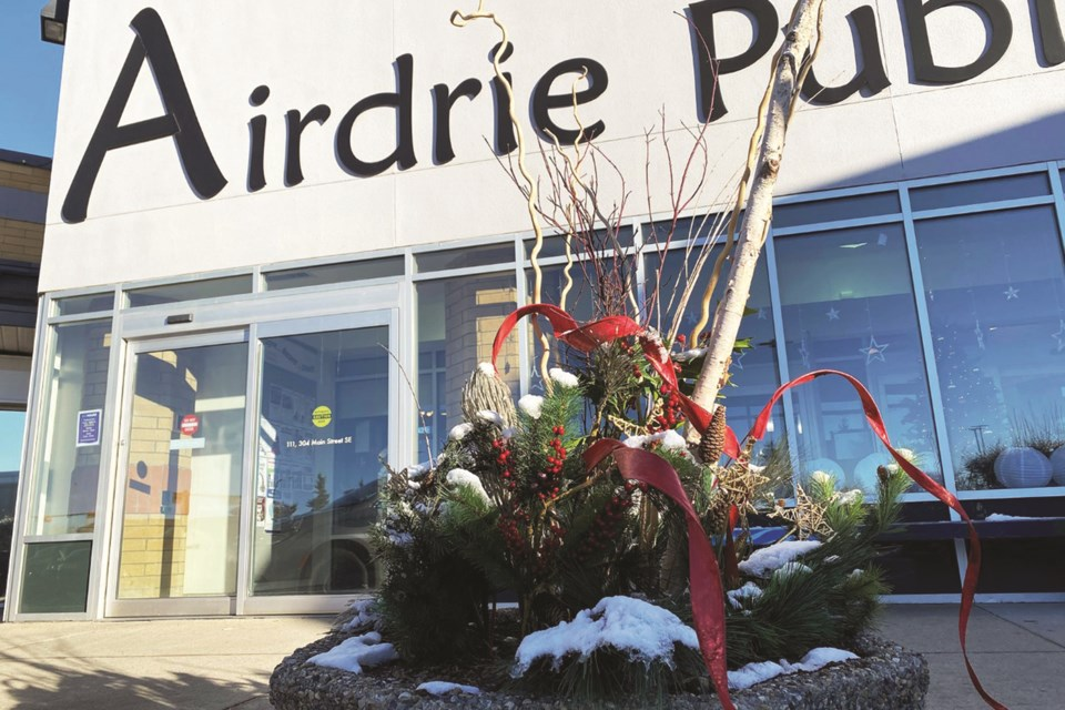 Airdrie Public Library may be temporarily closed, but the facility is still offering many of its services in a modified format. Photo submitted/For Airdrie City View.