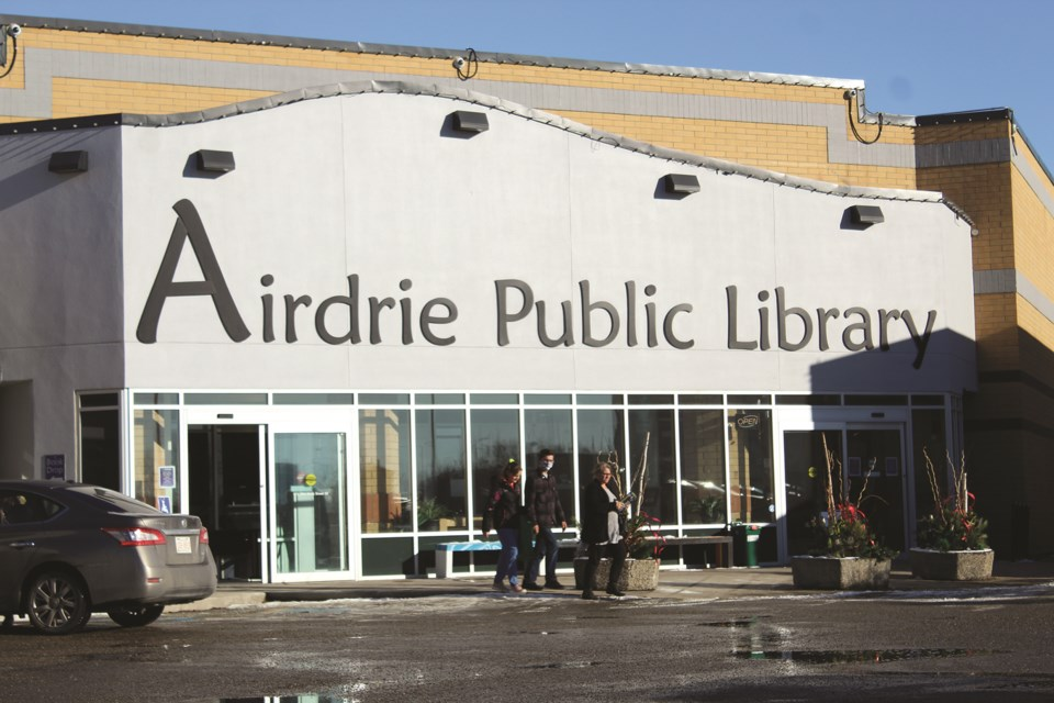 Airdrie Public Library is offering a host of programs and initiatives in January. Photo by Scott Strasser/Airdrie City View.