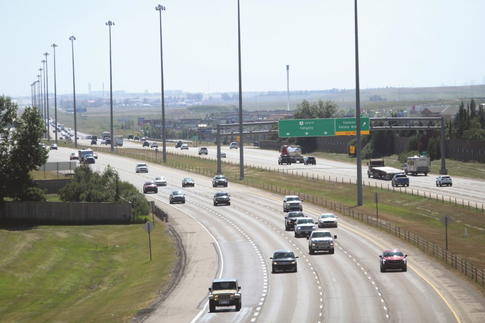 A new Traffic Safety Plan is in place in Airdrie. File photo/Airdrie City View.