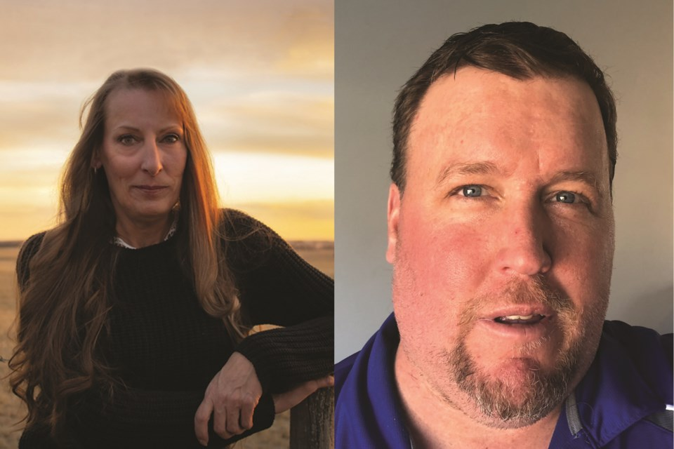 Joanne Cornelssen and Mike Knight were elected to Crossfield Town council in a May 10 byelection.