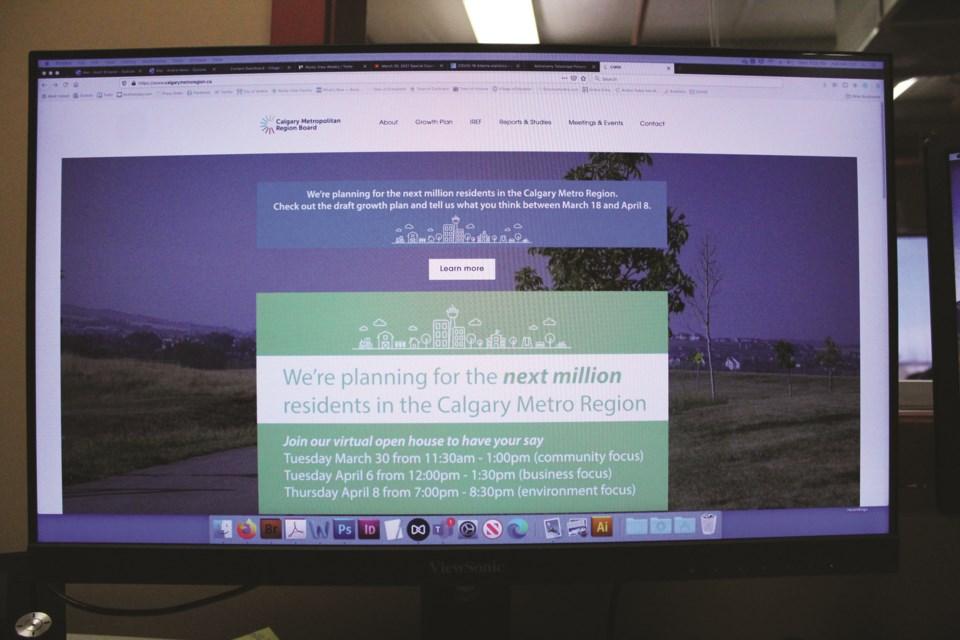 The Calgary Metropolitan Region Board is seeking public feedback on its draft regional growth plan until April 8.
