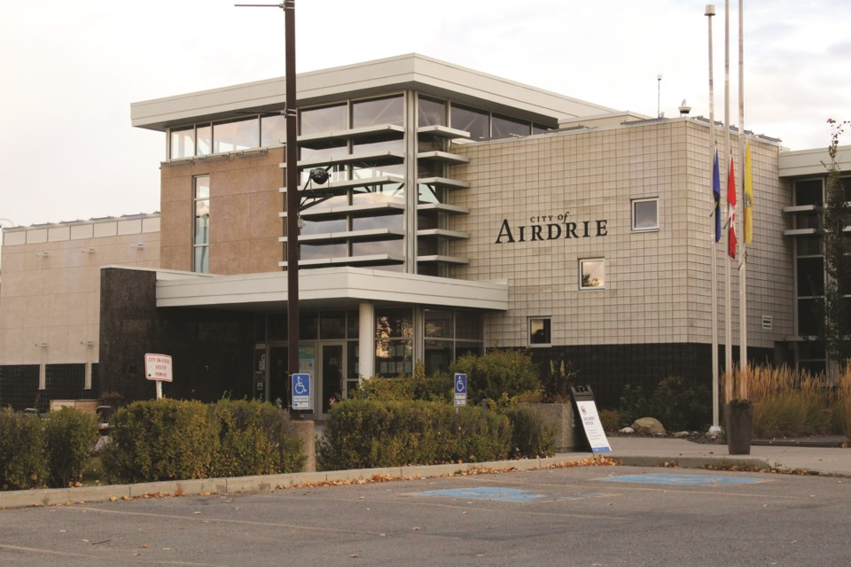 Airdrie City council approved sending a letter to the Ministry of Municipal Affairs Oct. 5, to explore the potential of applying for a Community Revitalization Levy for the city's downtown rejuvenation. Photo by Scott Strasser/Airdrie City View.