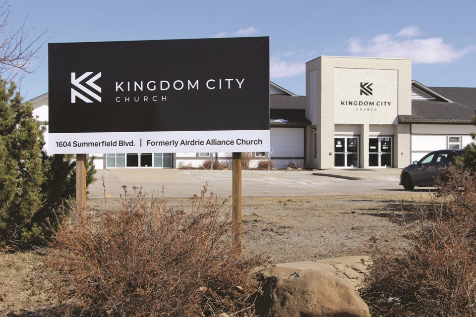 Kingdom City Church, formerly known as Airdrie Alliance Church, will be going ahead with Easter weekend service both in-person and online this weekend.