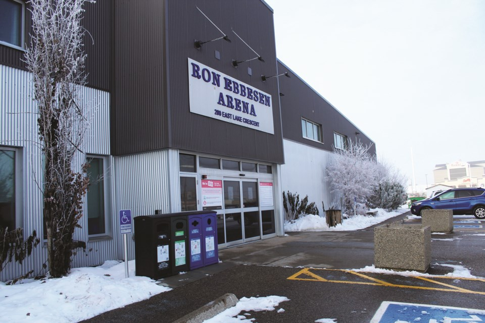The last-minute cancellations of ice time rentals at City-owned facilities like the Ron Ebbesen Arena have increased in recent weeks. Photo by Scott Strasser/Airdrie City View.