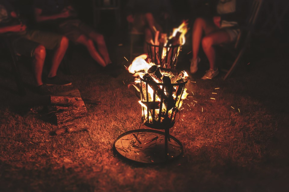 A fire ban was implemented in Rocky View County on March 24. Photo by Dimitri Houtteman/Unsplash