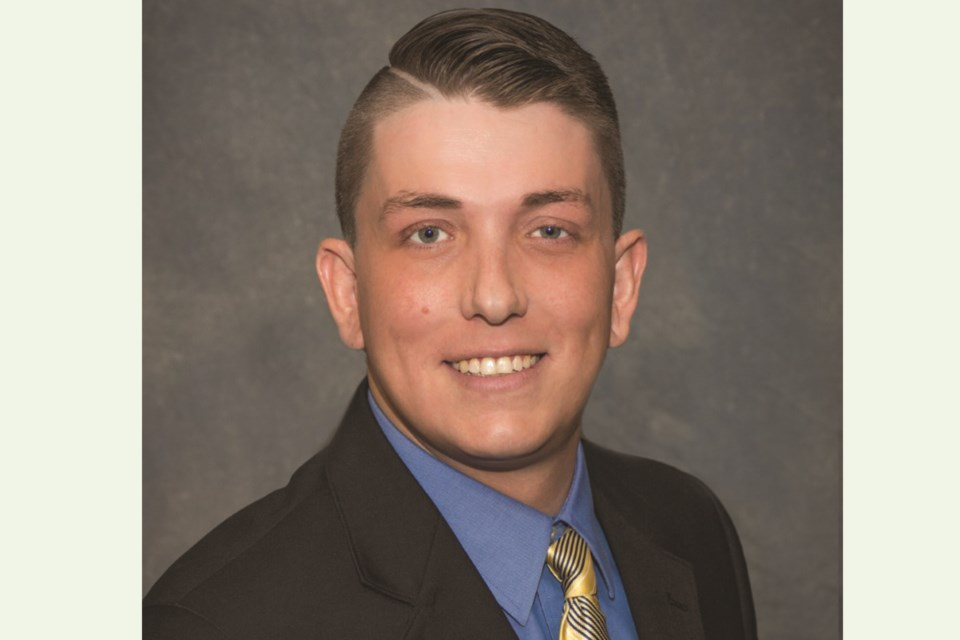 Crossfield Town councillor Devon Helfrich, 32, passed away on Jan. 9, according to the municipality.