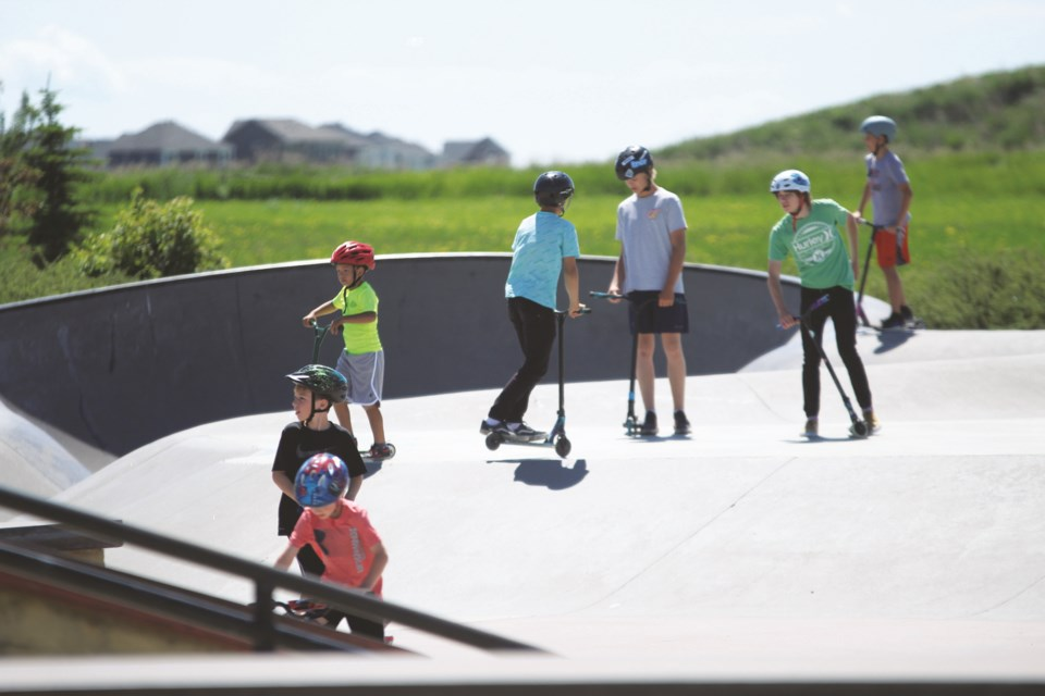 The City of Airdrie is exploring the feasibility of constructing another skatepark in the municipality. File photo/Airdrie City View