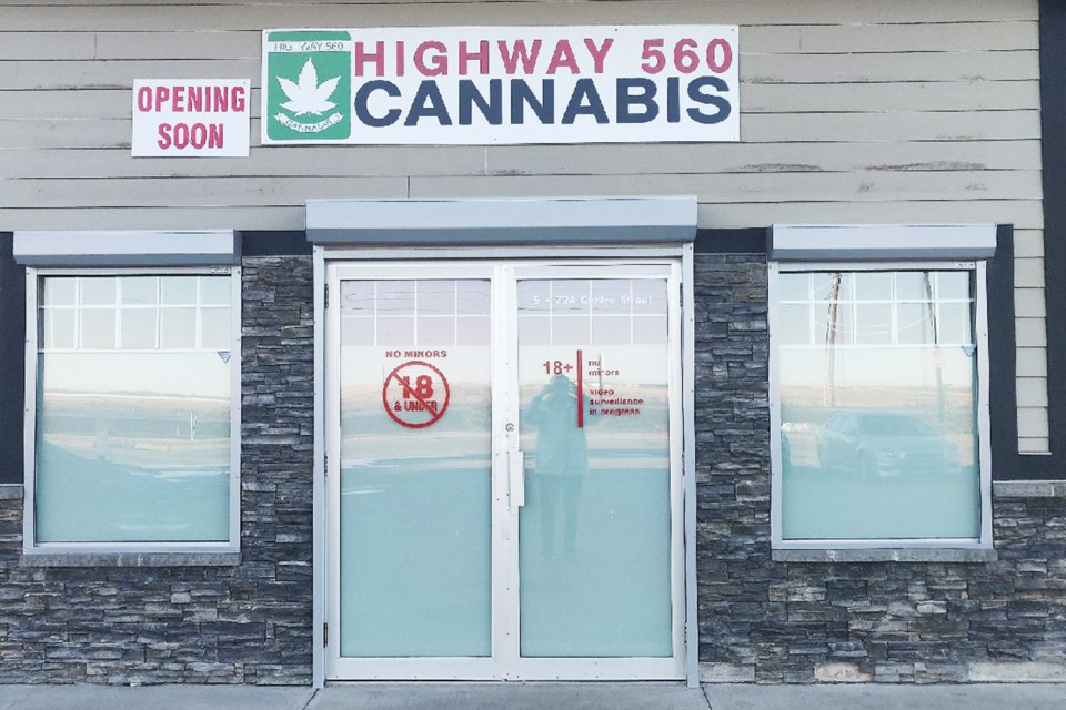 Highway 560 Cannabis will be Langdon's first recreational marijuana retail outlet.