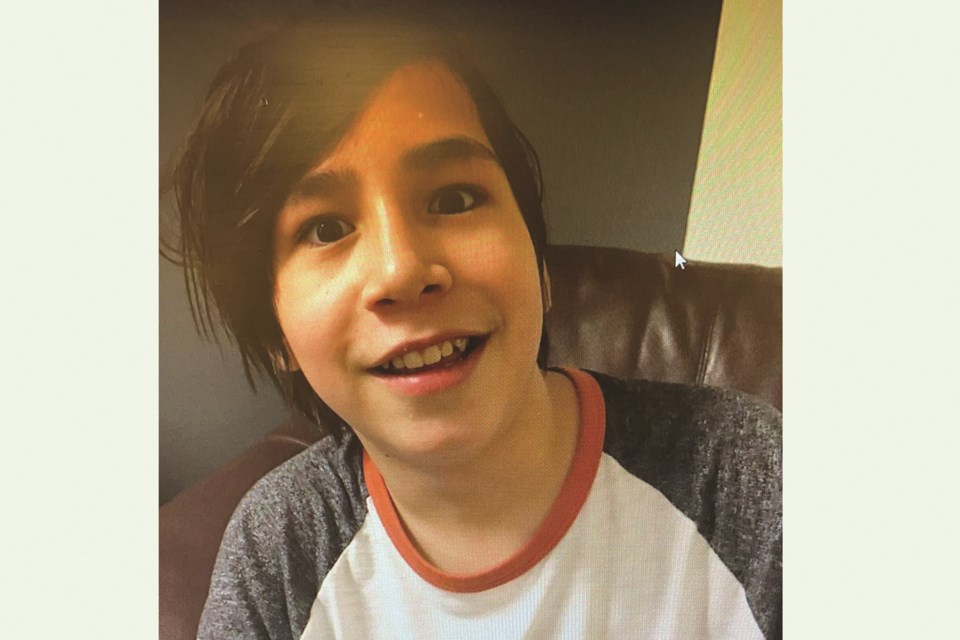 Airdrie RCMP is requesting assistance in locating a 13-year-old buy named Lazarus Desjarlais.