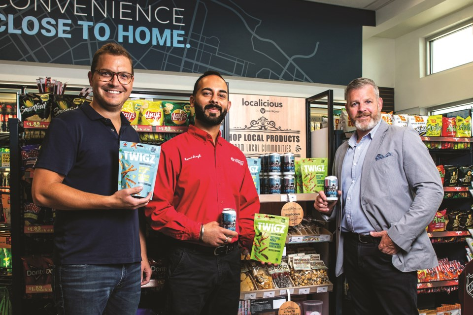 Waypoint convenience stores' Localicious program aims to get local food and drink options to consumers on the fly.