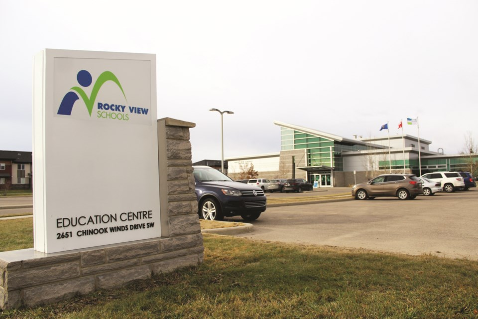 Rocky View Schools has had more than 40 cases of COVID-19 among students and staff. Photo by Scott Strasser/Airdrie City View.
