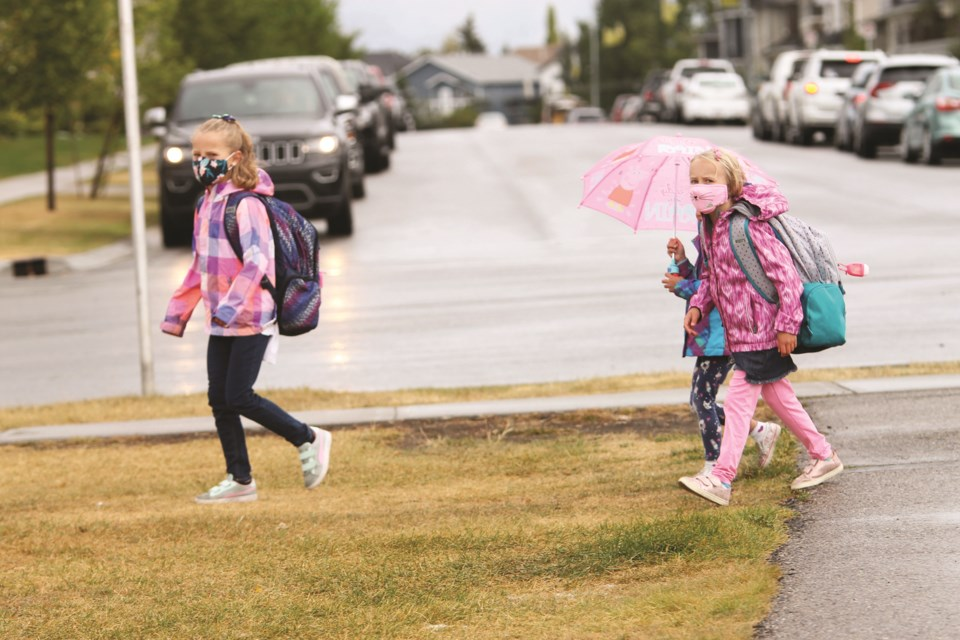 Rocky View Schools' enrolment total is down slightly compared to last year, mainly due to the COVID-19 pandemic. File photo/Airdrie City View.