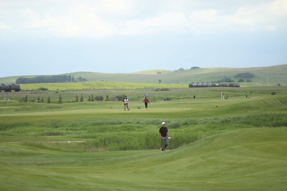 Collicutt Siding Golf Course used Swirltex's treated effluent for its irrigation in 2020.