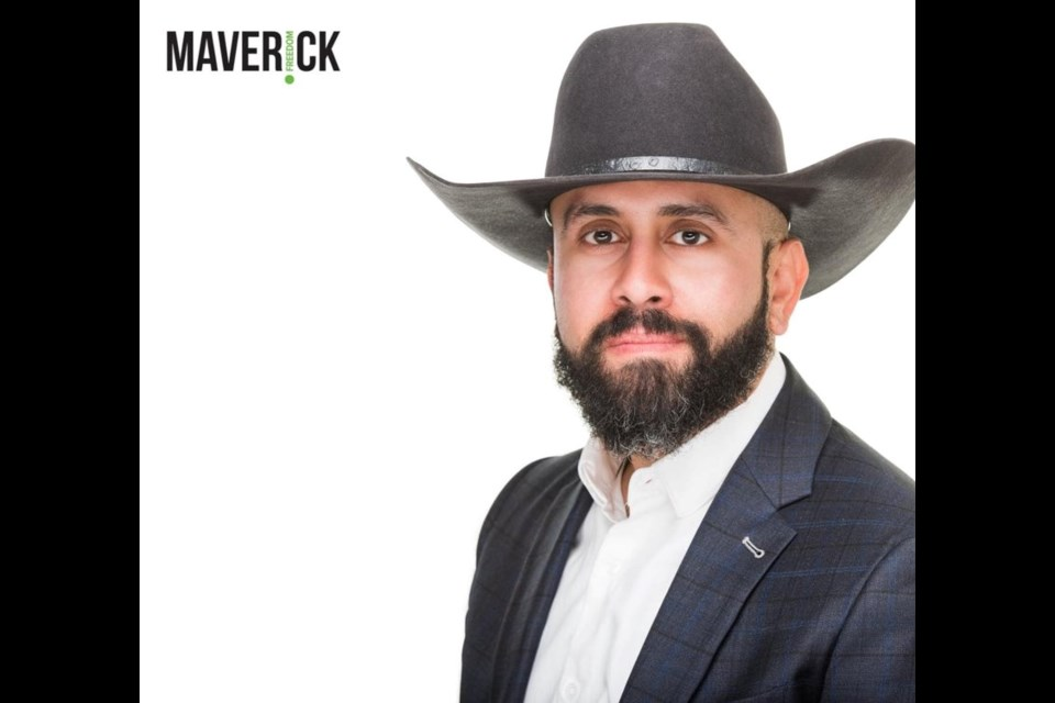 Airdrie resident Tariq Elnaga is the Banff-Airdrie candidate for the Maverick Party a – federal party that focuses on western autonomy.