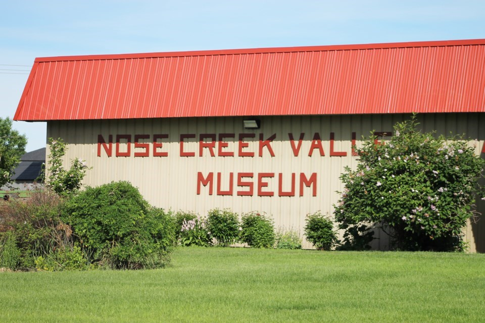 The curator of the Nose Creek Valley Museum said staff have enjoyed being able to reopen their doors fully in the last month, after public health restrictions were lifted on July 1.