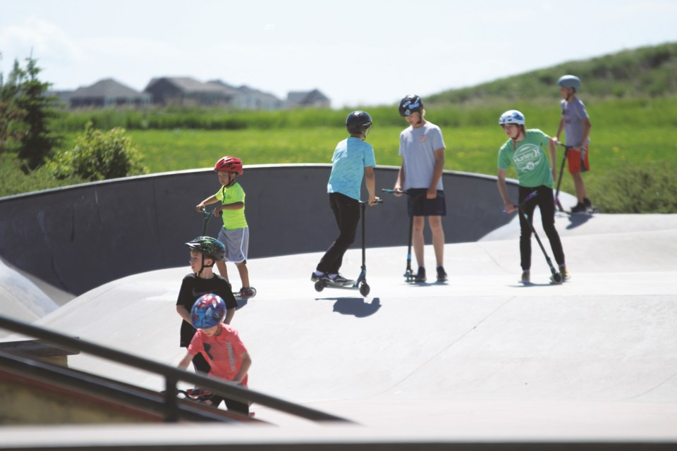 Airdrie City council voted unanimously in favour of a notice of motion Sept. 21 requesting staff to provide information on the feasibility of bringing a second skate park to the city. File photo/Airdrie City View.