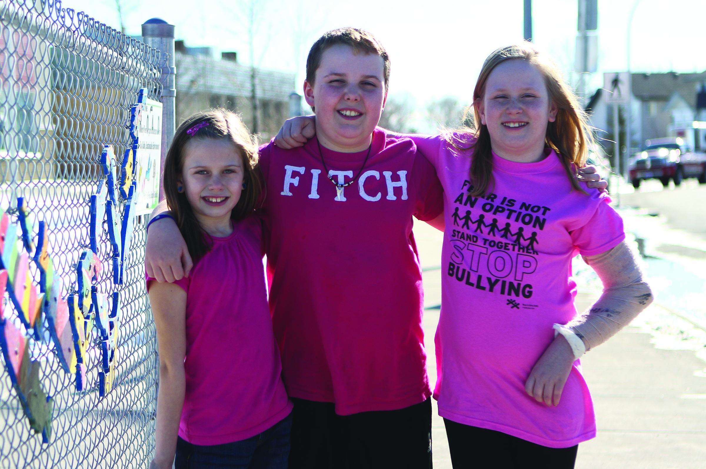 Stop Bullying Pink Shirt Day Anti-Bullying Women Long Sleeve T-Shirt Support