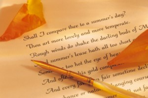 Local poetry events to promote peace and sustainability