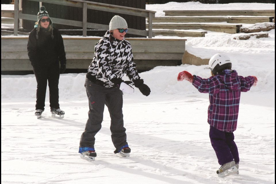 Nose Creek Pond will host the Pride Family Fun Skate Feb. 17 to officially cap off the 2020 Alberta Winter Games. The event is being co-organized by the Games' host society and the Airdrie Pride Society. File Photo/Airdrie City View