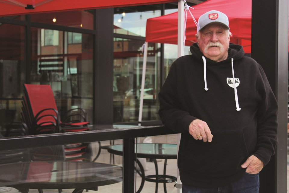 Stew Ward co-opened the Balzac Craft Brewing Company in Airdrie in 2018, after working in the oil and gas sector for many years.