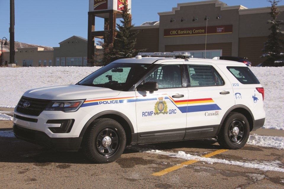 On April 6, Airdrie RCMP officers arrested a 27-year-old woman from Edmonton who collided with a car and a pallet of fencing in the Superstore parking lot.