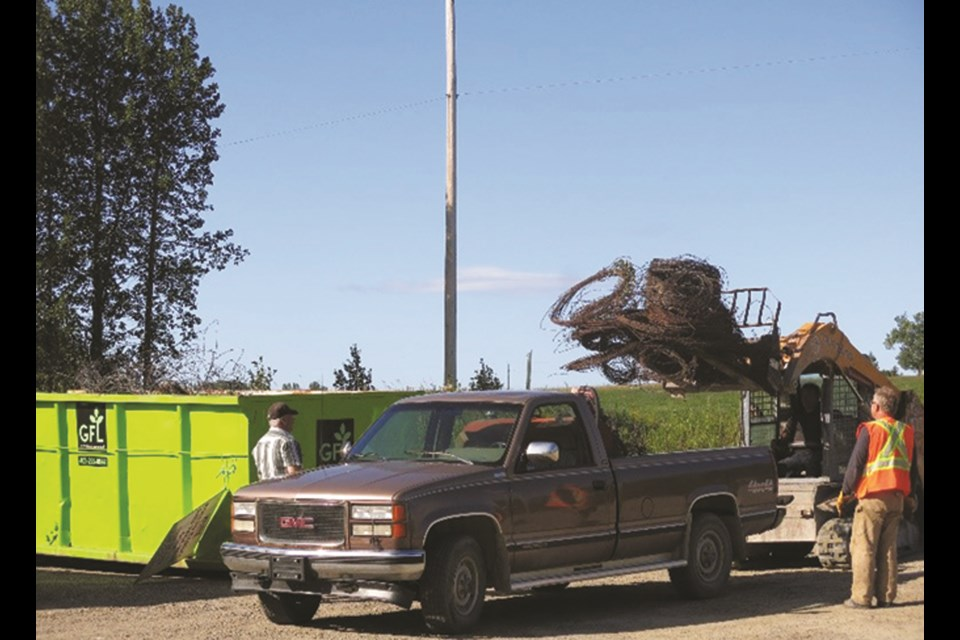 Local farmers will be able to get rid of their hard-to-recycle items during Rocky View County's 13th annual Agricultural Round-up Days. Photo submitted/For Rocky View Weekly.