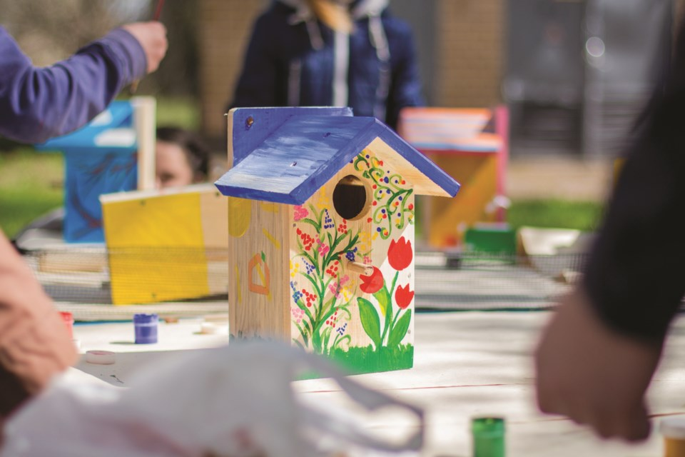 Bragg Creek youth can show off their creativity in a local birdhouse-building and decorating program this spring.