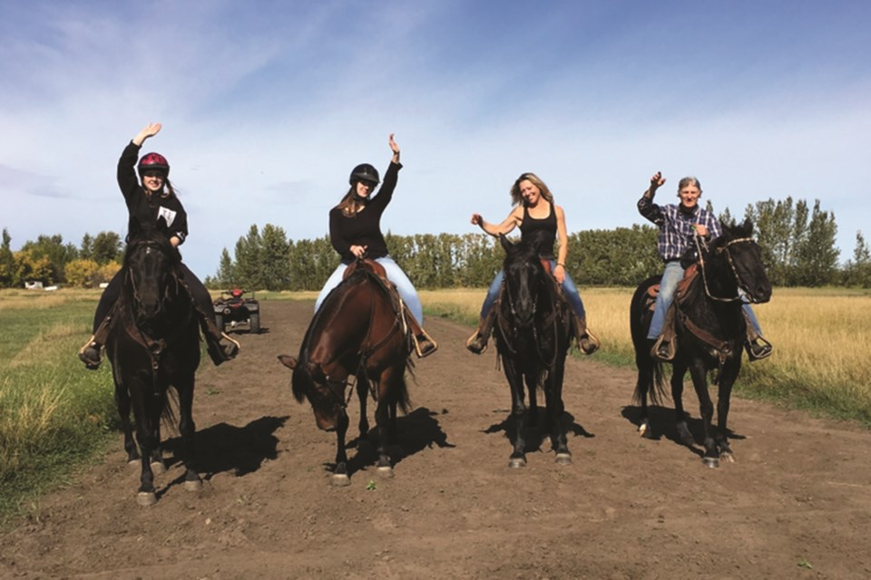 Strathmore-based Humblehorse Ranch is offering learn-to-ride clinics for beginner and amateur western-style horseback riders this spring.