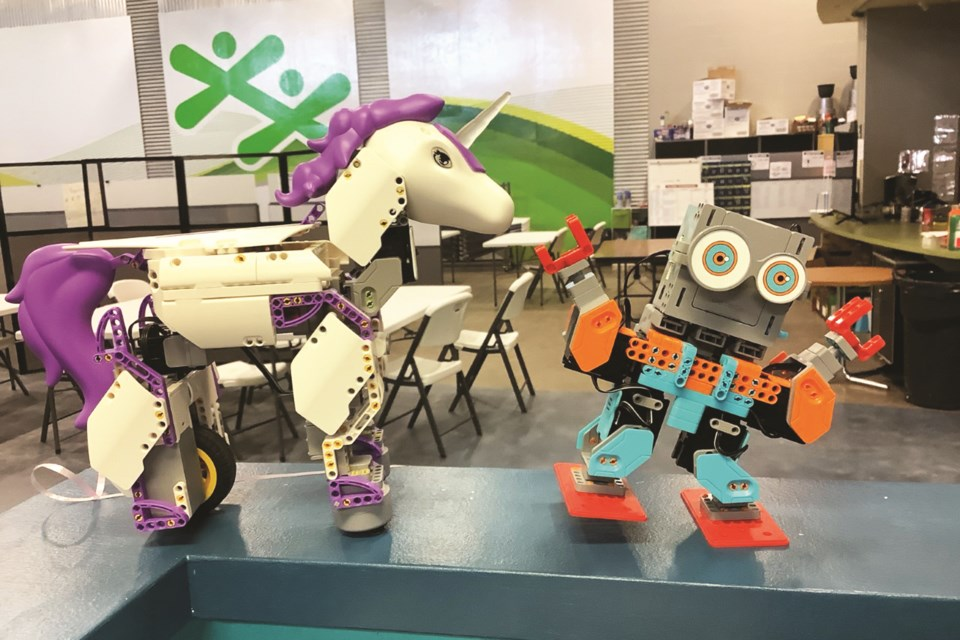 Robo-Tech participants will learn to build and program JIMU bots.