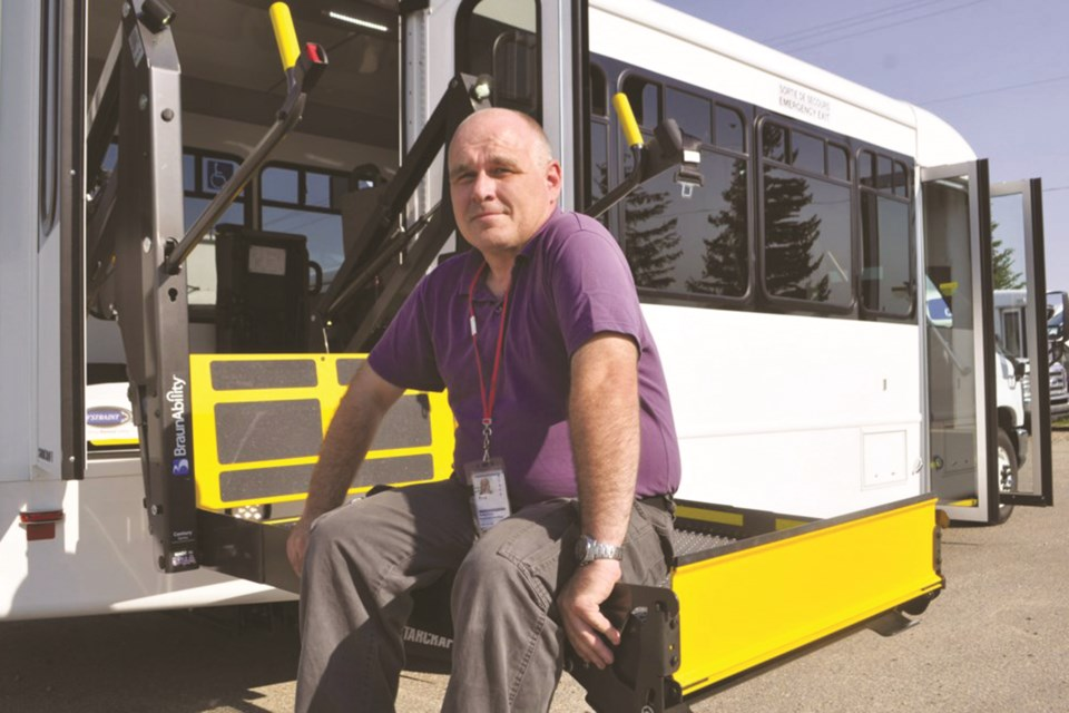 Rocky View Regional Handibus Society is starting to see an uptick in ridership after drastic declines in the spring brought on by the COVID-19 pandemic. File photo/Rocky View Weekly.